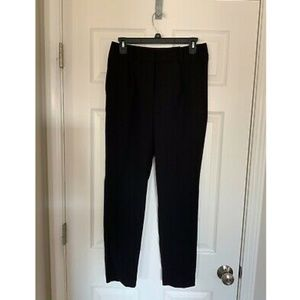 NWT Express Ankle High Rise Black Pants - 4R